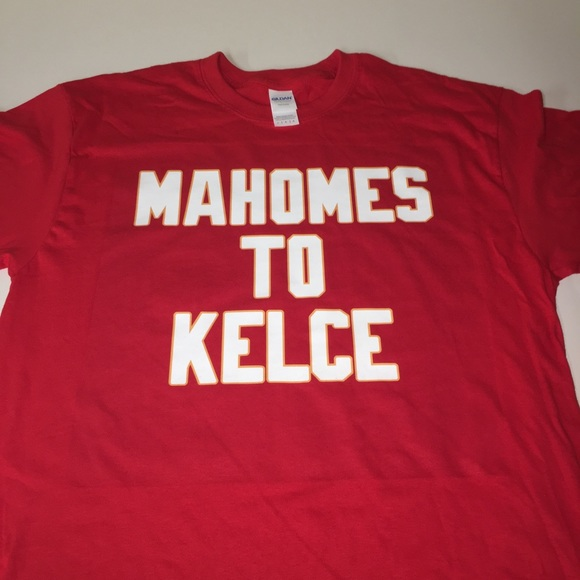 f92b725c6 Kansas City Chiefs Mahomes to Kelce Shirt